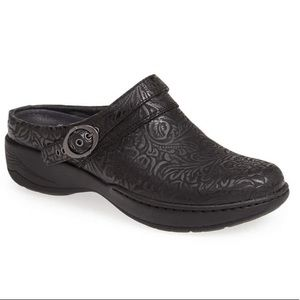 Dansko Allison leather mule clog shoes 41